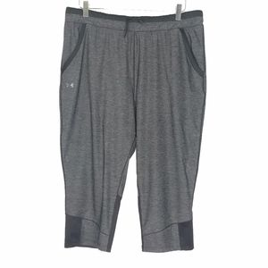 Under Armour HeatGear Gray Cropped Pants A070650